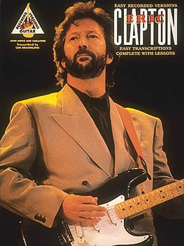 9780793536627: Hal Leonard The Best of Eric Clapton Easy Recorded Versions
