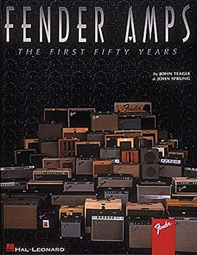 9780793537334: Fender amps - the first fifty years guitare