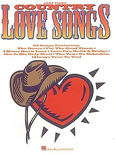 9780793537495: Country Love Songs (Easy Piano)