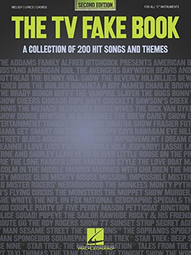 9780793537624: The TV Fake Book: A Collection of 200 Hit Songs and Themes, 2nd Edition
