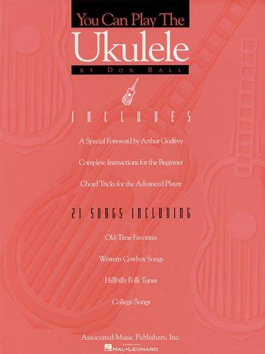 9780793537648: You Can Play the Ukulele: Ukulele Solo