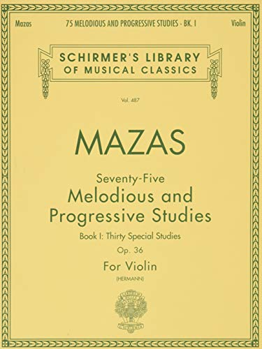 75 Melodious and Progressive Studies, Op. 36: William Herrmann (Editor),