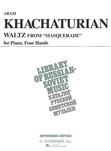 Waltz from Masquerade (Vaap Edition): Piano Duet: Khachaturian, Aram