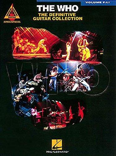 The Who: The Definitive Guitar, Vol. F-Li: The Who
