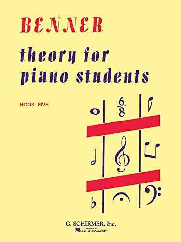 9780793538188: Theory for Piano Students - Book 5: Piano Technique