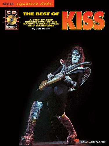 THE BEST OF KISS BK/CD (Guitar Signature Licks): Jeff Perrin