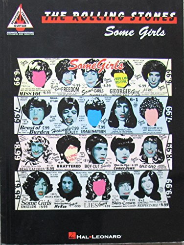 9780793538546: The Rolling Stones: Some Girls (Recorded Guitar Version)