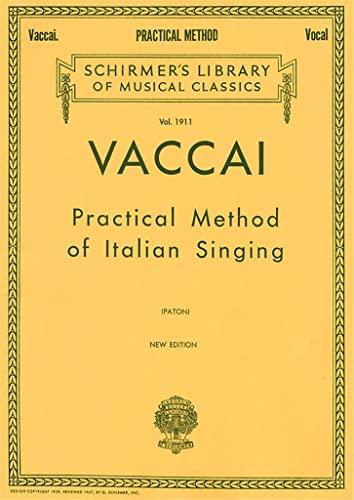 9780793539086: Practical Method of Italian Singing: High Soprano