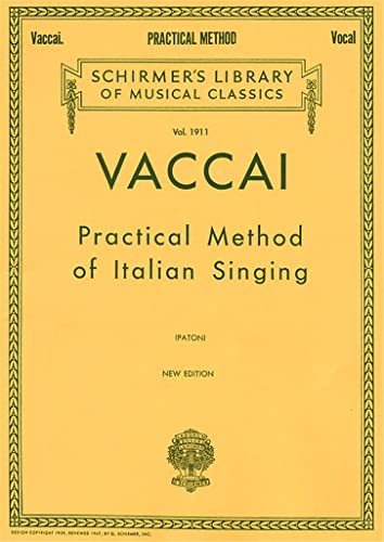 9780793539086: Practical Method of Italian Singing: For High Soprano