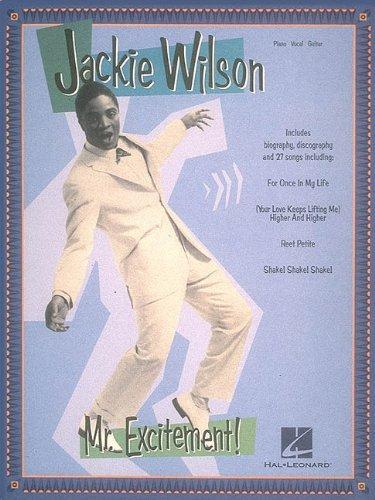 9780793540082: Jackie Wilson - Mr. Excitement! (Piano/Vocal/Guitar Artist Songbook)
