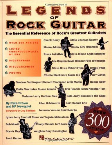 9780793540426: Legends of Rock Guitar