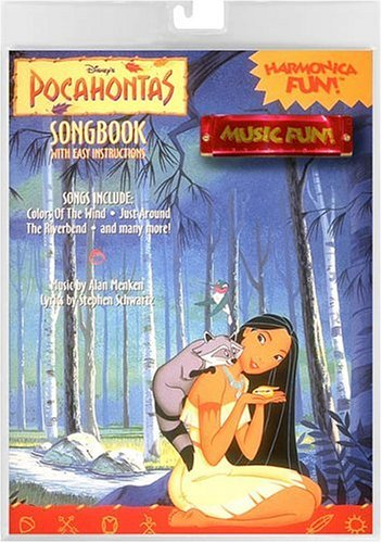 9780793540860: Disney's Pocahontas Songbook With Easy Instructions: Harmonica Fun!/Book and Harmonica