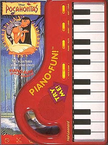 9780793540877: Disney's Pocahontas: Piano-Fun! Ez-Play Songbook/Book and Piano