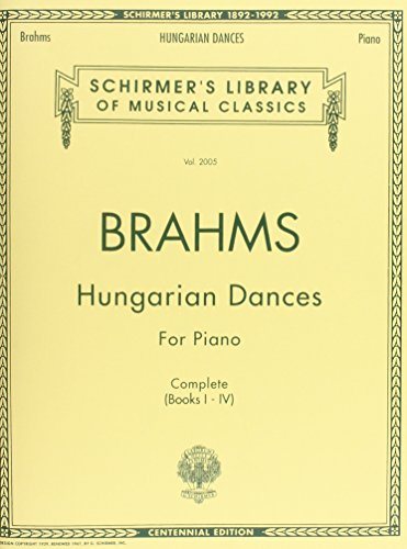 9780793541089: Hungarian Dances: Piano Solo (Schirmer's Library of Musical Classics)