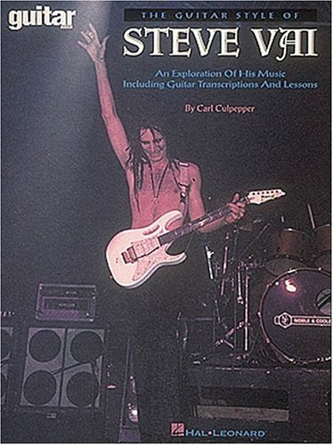 9780793542109: The Guitar Style of Steve Vai