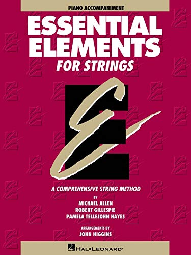 Essential Elements Piano Accompaniment Strings Book 1: Various