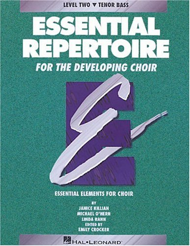 9780793543434: Essential Repertoire for the Developing Choir (Essential Elements Choir)