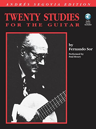 9780793543687: Twenty studies for the guitar