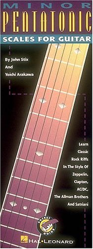 9780793543700: Minor Pentatonic Scales for Guitar: English Edition