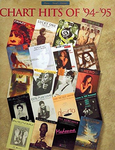 9780793543779: Chart Hits of '94-'95