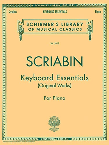 9780793544158: Keyboard Essentials - A Collection of Easier Works: Piano Solo (Schirmer's Library of Musical Classics)