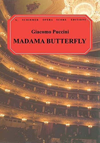 9780793544165: Madama Butterfly (G. Schirmer Opera Score Editions)