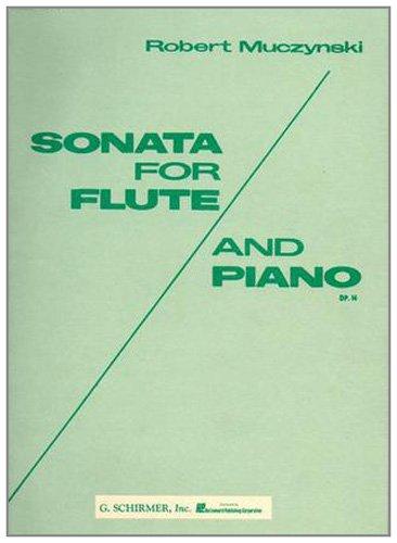 9780793544370: Sonata for Flute & Piano Opus 14