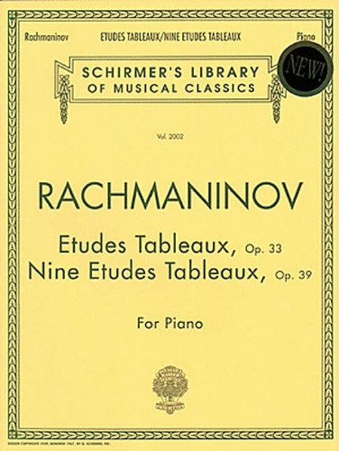 9780793545186: Etudes Tableaux, Op. 33 & 39: Piano Solo (Schirmer's Library of Musical Classics)