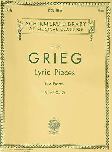 9780793545209: LYRIC PIECES OP68/71 PNO (Schirmer's Library of Musical Classics)