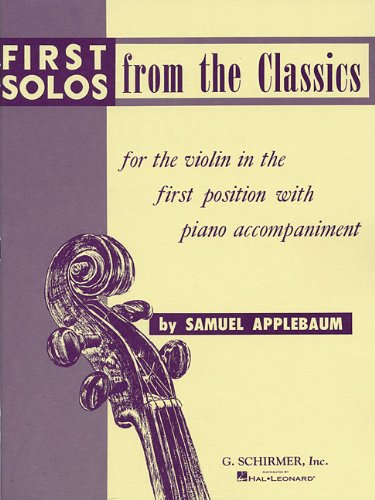 9780793545308: First Solos from the Classics: Violin and Piano