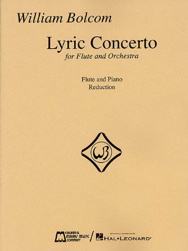 LYRIC CONCERTO FOR FLUTE/ORCH PIANO REDUCTION: HAL LEONARD CORPORATION