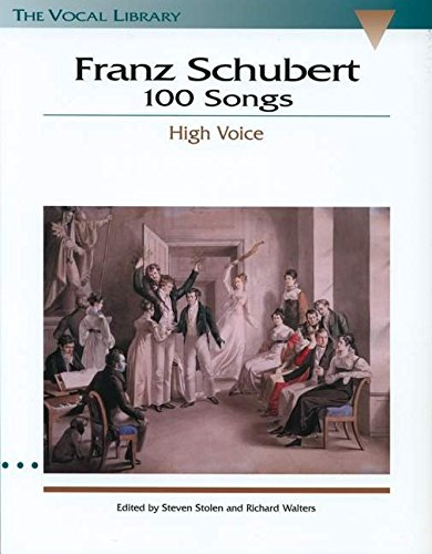 9780793546428: Franz Schubert 100 Songs (The Vocal Library)
