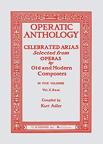 Operatic Anthology Volume V: Bass (Paperback)
