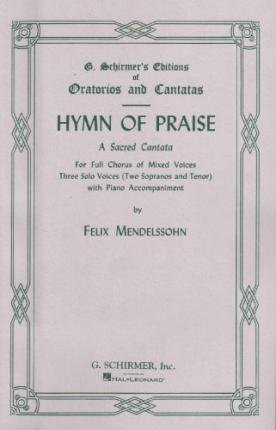 9780793547098: Hymn of Praise: Vocal Score Three Solo Voices and Piano