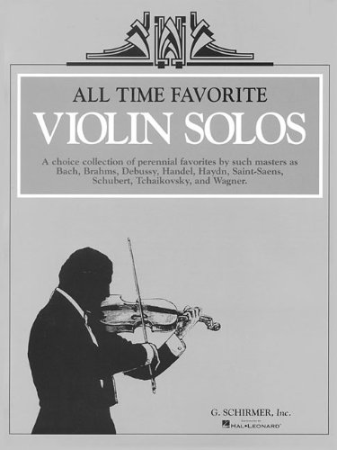 9780793548040: All Time Favorite Violin Solos