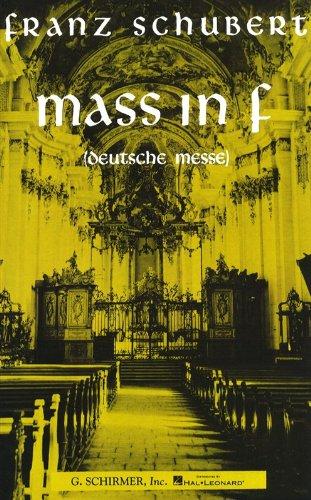 9780793548606: Mass in F (Deutsche Messe)