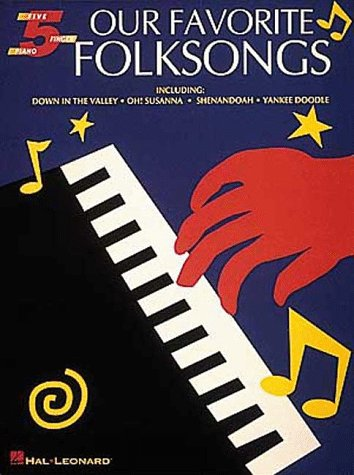 9780793548835: Our Favorite Folksongs: Five-Finger Piano