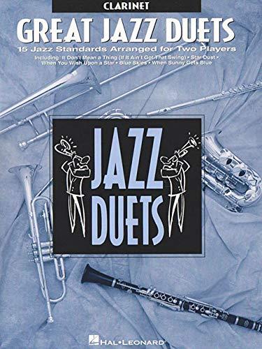 9780793549146: Great Jazz Duets: Clarinet