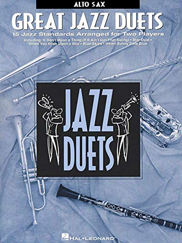 9780793549153: Great Jazz Duets: Alto Sax