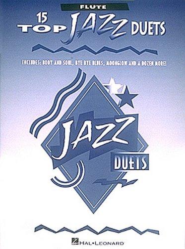 9780793549184: 15 Top Jazz Duets: Flute