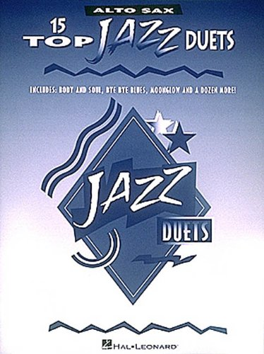 9780793549221: 15 TOP JAZZ DUETS ALTO SAX