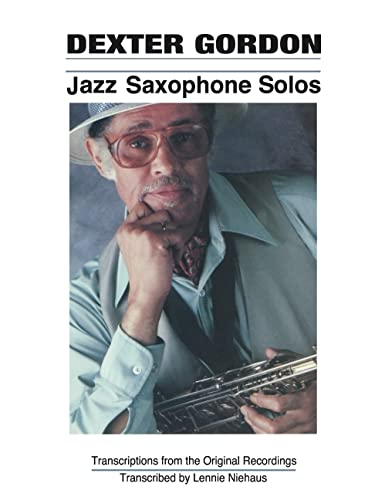 9780793550548: Dexter Gordon - Jazz Saxophone Solos (Jazz Book)