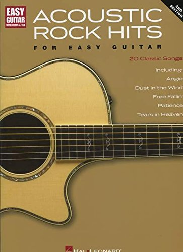9780793550876: ACOUSTIC ROCK HITS FOR EASY GUITAR 2ND EDITION WITH NOTES & TAB