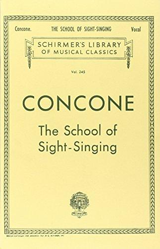 9780793551026: Concone. School of Sight-Singing: Vocal