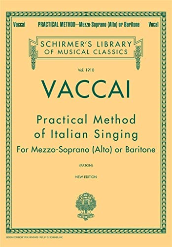 9780793551200: Practical Method of Italian Singing : New Edition - Mezzo Soprano (Alto) or Baritone