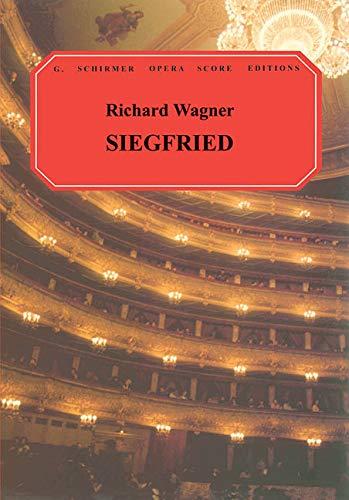 9780793551415: Richard Wagner: Siegfried (Vocal Score)