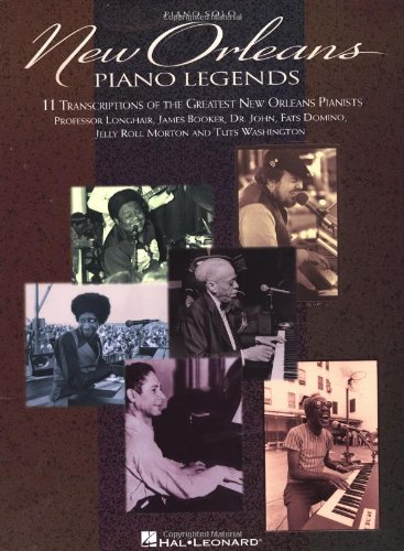 9780793551590: New Orleans Piano Legends