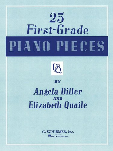 9780793551750: 25 First Grade Piano Pieces: Easy Piano Solo (Piano Collection)