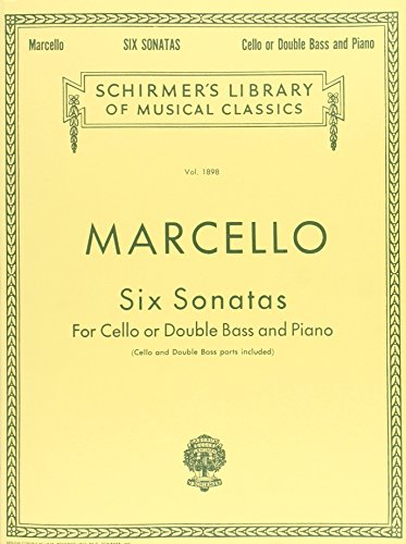 9780793551804: Benedetto Marcello: Six Sonatas (Schirmer's Library of Musical Classics)