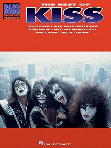 9780793551866: BEST OF KISS FOR BASS (Bass Recorded Versions)